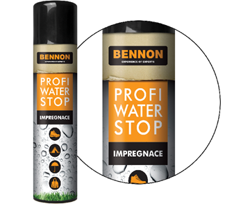 Αδιαβροχοποιητικό σπρέι Παπουτσιών Bennon Profi Water Stop